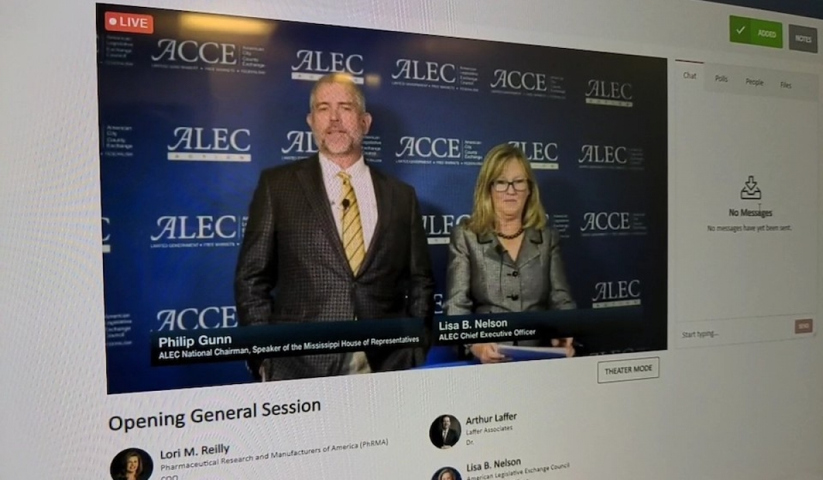 ALEC Holds Virtual States and National Policy Summit