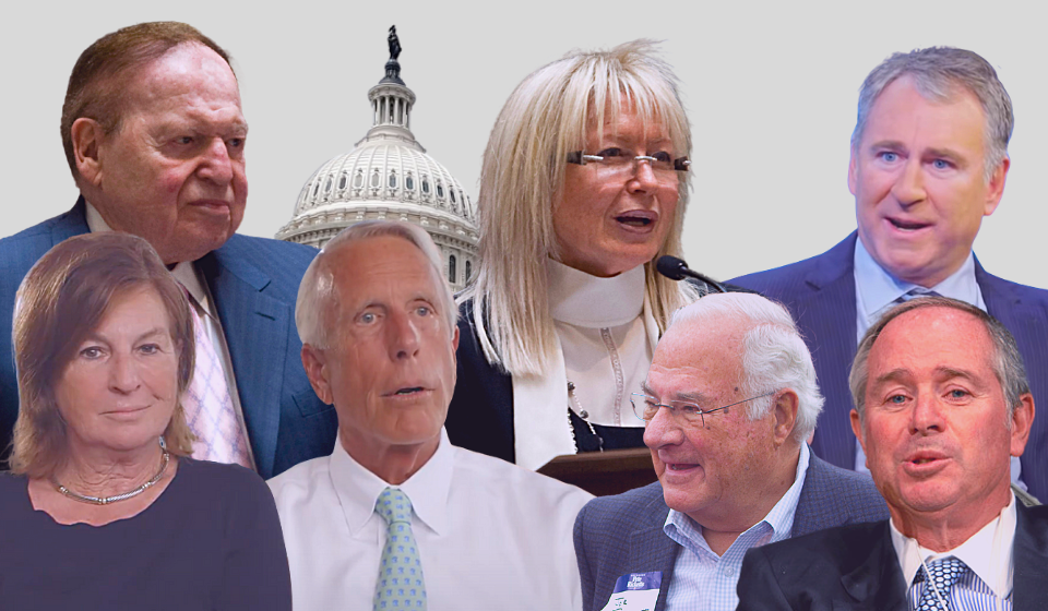 The Real Money Behind the Politicians Who Voted to Overturn the Election