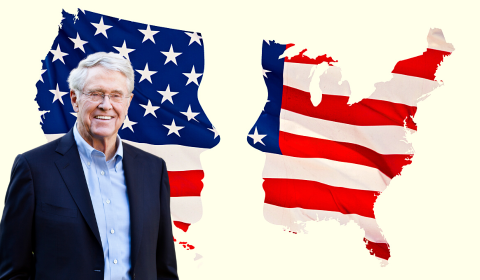 "Charles Koch's ""Uniter"" Rebrand Strains Credulity After Funding Congressional Coup Supporters"