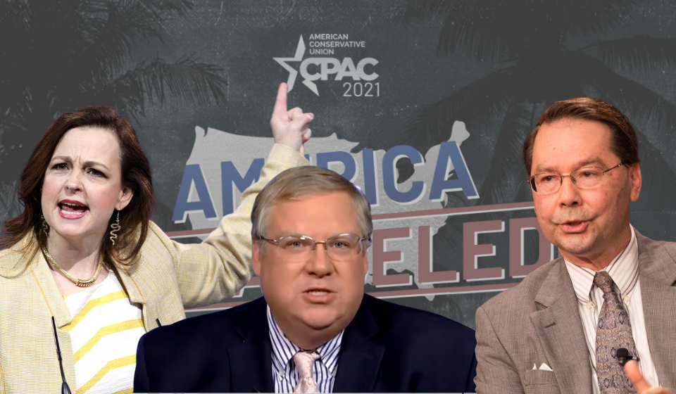 "Right Promotes ""Big Lie"" of Widespread Voter Fraud at CPAC Conference"