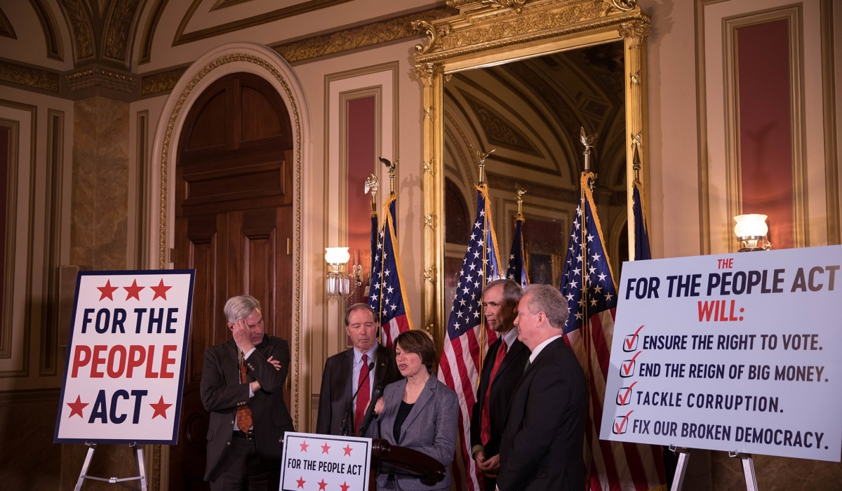 Right-Wing Groups Unite in Campaign Against Bill to Improve U.S. Democracy