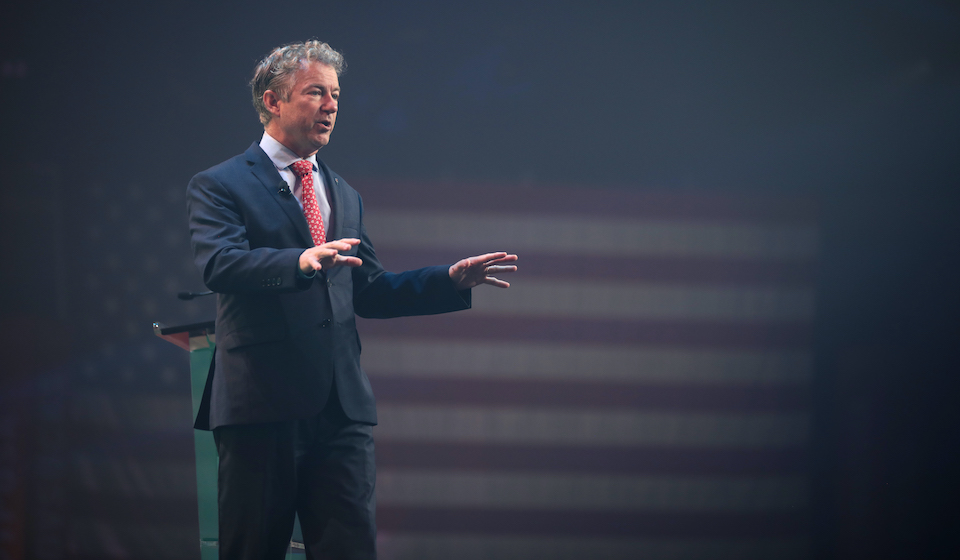Rand Paul Is Working with ALEC to Suppress the Vote