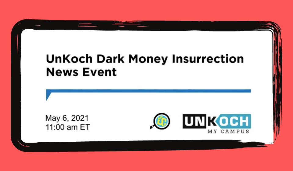 CMD Presents Reporting at UnKoch Press Conference
