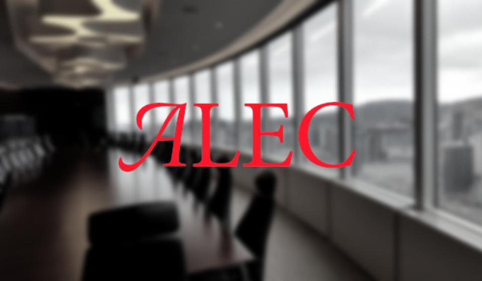 ALEC's Annual Economic Survey Puts Profits Before People