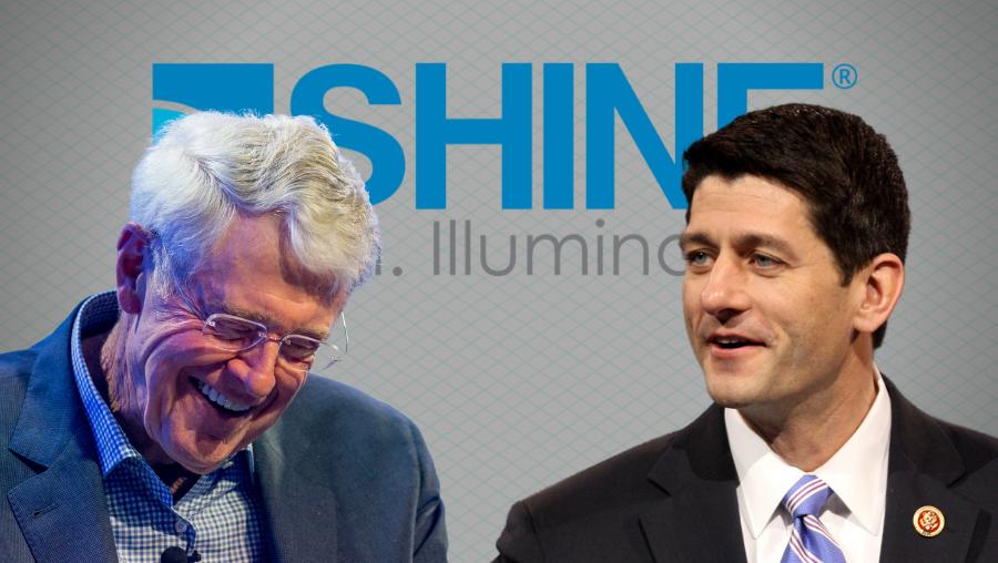 Koch and Ryan Back Heavily Subsidized Startup Company
